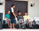 Glorious Lenten wheel chairs Hands of Mercy Cebu philippines-0062