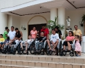 Glorious Lenten wheel chairs Hands of Mercy Cebu philippines-0097