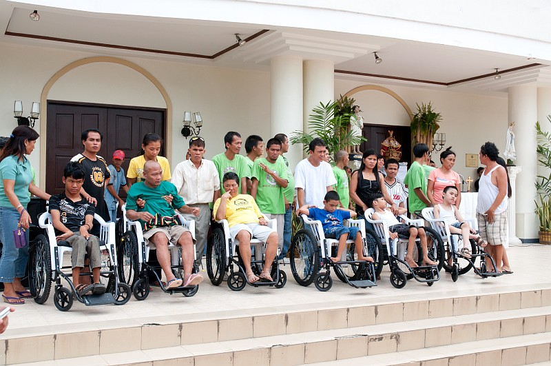 Glorious Lenten wheel chairs