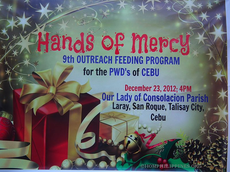 Christmas 2012 in Cebu – Feeding Program